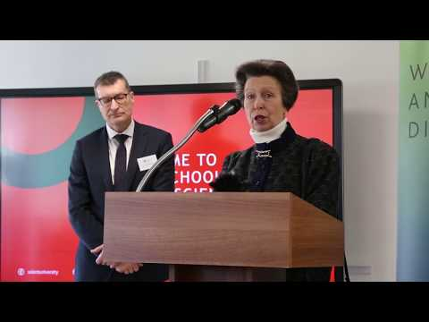 HRH The Princess Royal visits Solent