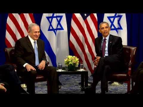 PM Netanyahu Meets US President Obama