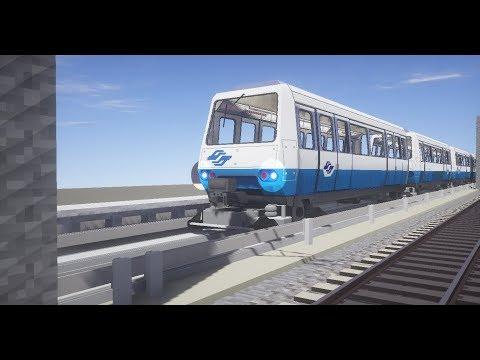 Minecraft RTM 縮小版 台北捷運~文湖線 1 Taipei Metro reduced ver.~Wenhu Line-1