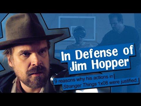 IN DEFENSE OF JIM HOPPER   Talks from Freaking Narnia 035