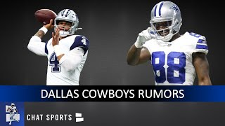 Dez Bryant Return To Cowboys? Dak Prescott's Play? Xavier Woods vs. Jamal Adams?  | Cowboys Rumors