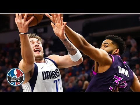 Luka Doncic's clutch 29 points leads Mavericks vs. Karl-Anthony Towns, Timberwolves | NBA Highlights