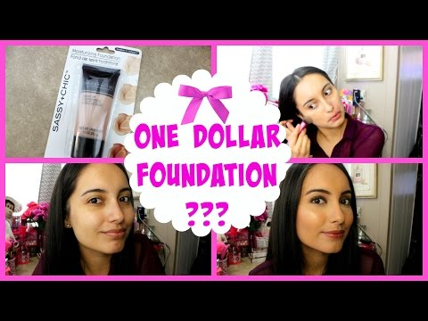 FOUNDATION DOLLAR TREE MUST HAVE OR NOT? First Impressions & Demo!