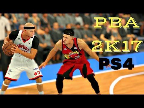 PBA 2k17 PS4: Barangay Ginebra vs San Miguel Beermen FULL GAMEPLAY