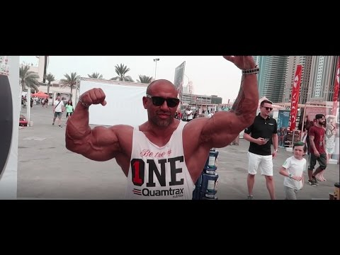 Fitness Expo Dubai: Rich Piana Kai Greene Big Ramy Michelle lewin Sadic Hadzovic jeff seid