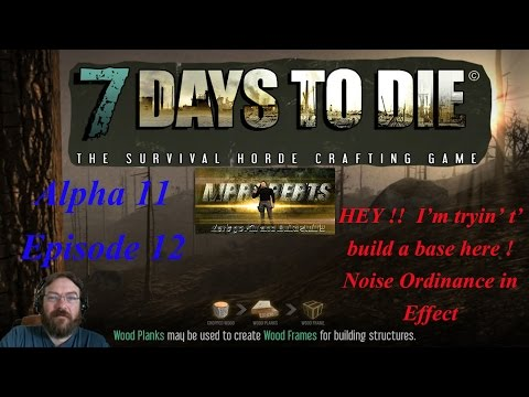 7 Days to Die - Alpha 11 Ep. 12 - Zombie Cave Rave