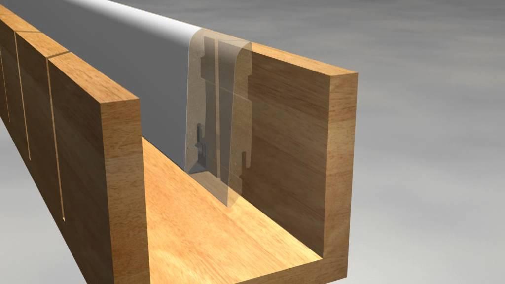 Fußleisten Holz mitre cutting on skirting gehrungsschnitt bei sockelleisten