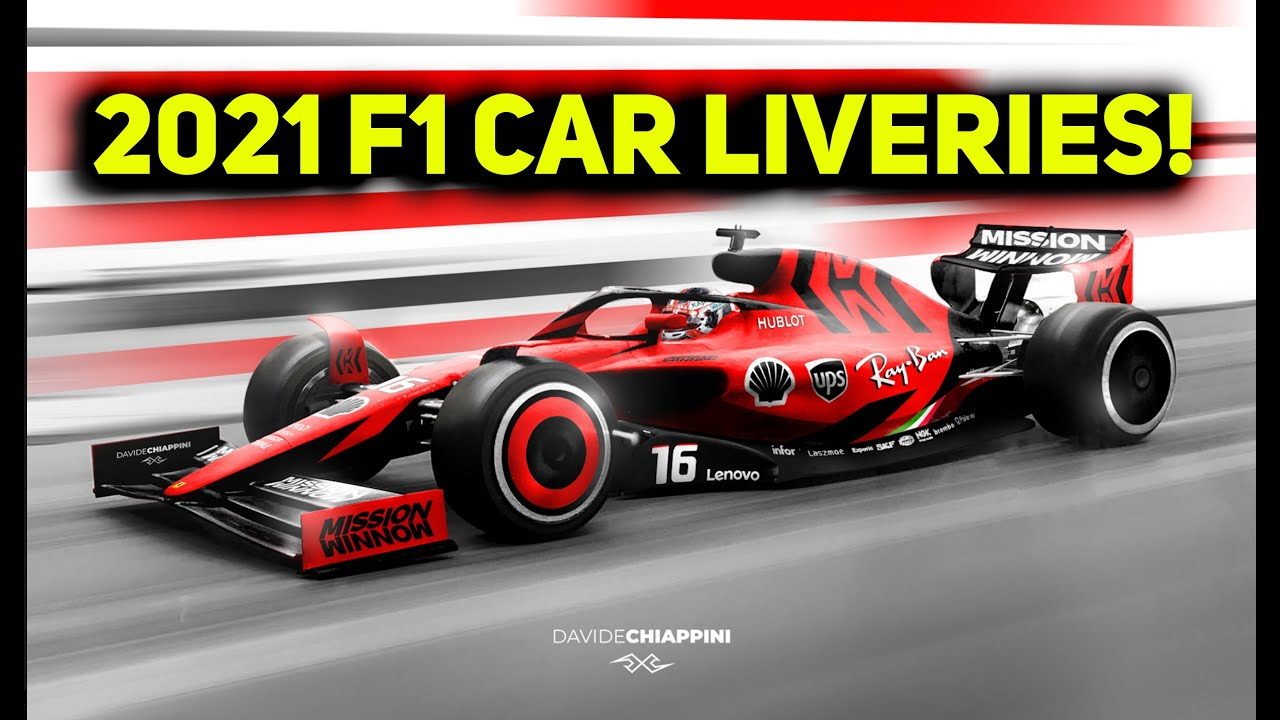 2021 F1 Car Concept Liveries F1 2021 Car Change Youtube