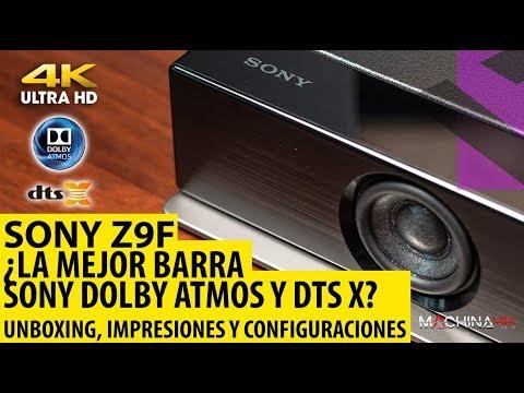 Sony Z9F Análisis y Unboxing. Estamos ante la mejor Barra de Sonido Dolby Atmos y DTSX del Mercado?