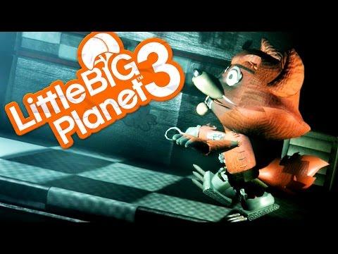 FIVE NIGHTS AT FREDDY'S - Little Big Planet 3 Part 2 (LittleBigPlanet)