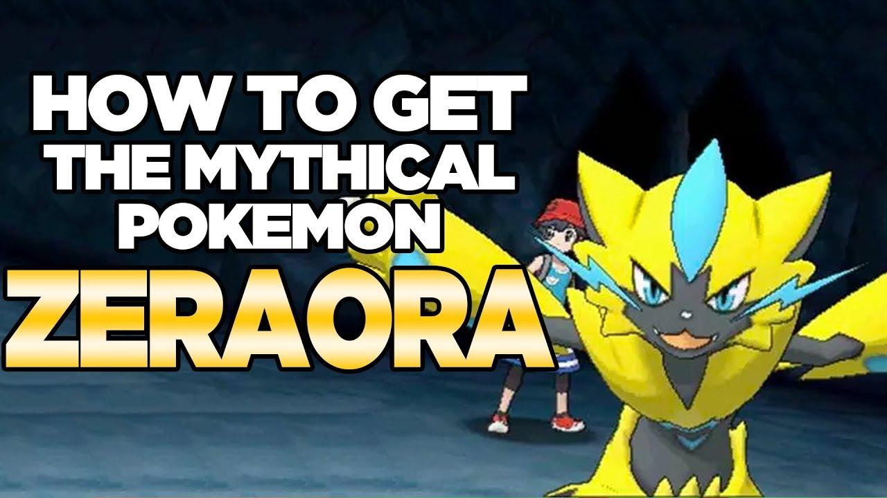 How To Get Mythical Pokemon Zeraora for Pokemon Ultra Sun and Moon | Austin  John Plays