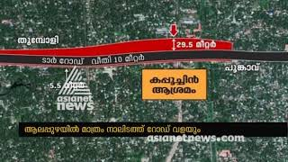 Alignment of the NH to favor Capuchin Ashramam in Alappuzha  Asianet News Investigation