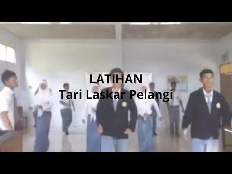 "Latihan ""Tari Laskar Pelangi"" Ver. SMK Arridlo"