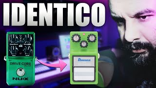 Cala a boca e toca! Ibanez Tube Screamer ts9 vs Nux Drive Core