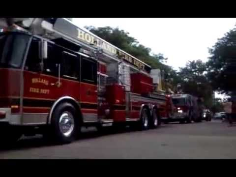 Truck Parade - Downtown Holland,MI - 9-1-2014