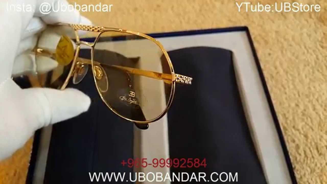 0701af1e5ab New Rare BUGATTI Sunglasses - YouTube