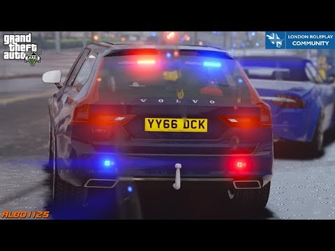 "GTA5 Roleplay (Traffic) - Unmarked ""Taxi"" & Stolen Vehicle - London Roleplay Community 22 #UKGTA"