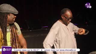 Regarder comment El Hadji Diouf s'enjaille au consert de Elage Diouf