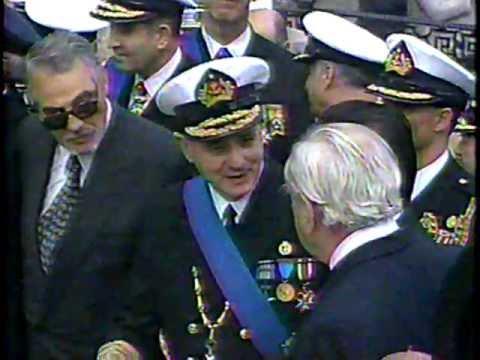 Armada de Chile Ceremonia Naval-21 de Mayo 1995.Parte 2 y Parada Militar