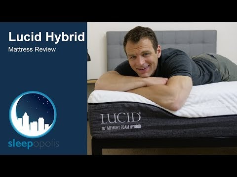 Lucid Hybrid Mattress Review - Support and Pressure Relief?
