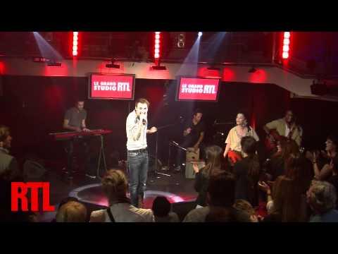 Christophe Willem - Double je en live dans le Grand Studio RTL présenté par Eric Jean Jean - RTL