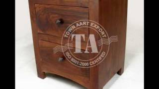 Wooden Drawer Chest Indian Furniture Handicraft Manufacture And Exporter