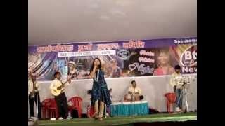 Chamma chamma by Ankita mishra (Indian idol fame)-Rajeev saxena musical group,Kanpur