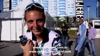 Sol Ordás Medalla de Oro en Remo Buenos Aires 2018 Entrevista Previa y Carrera desde el Puente