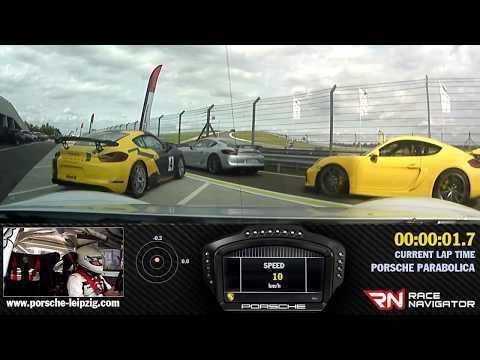 Porsche Cayman GT4 Clubsport - Andrej Kulundzic vs Porsche Sport Driving School Instructor :)