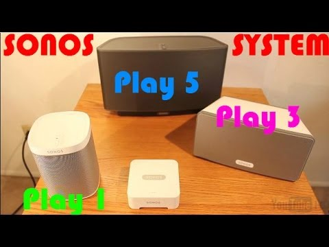 sonos play 5 review youtube
