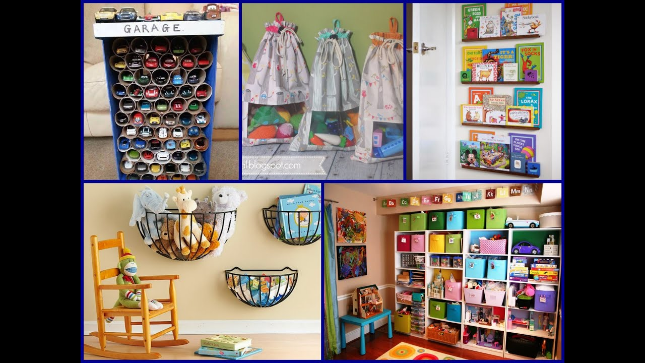 Best Playroom Storage Ideas \u2013 Home Organization - YouTube
