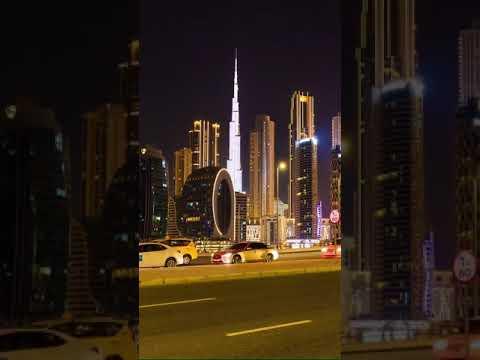 Burj khalifa Dubai Night View 2021