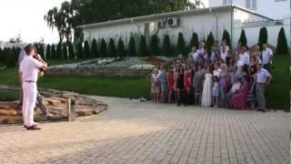 Коллективное фото на свадьбе