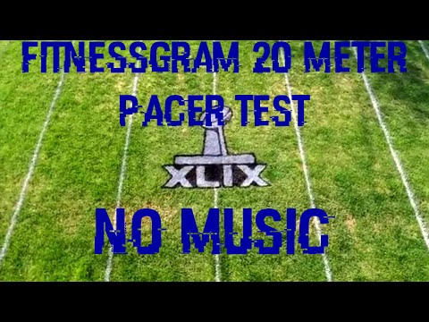20 Meter FitnessGram Pacer Test No music