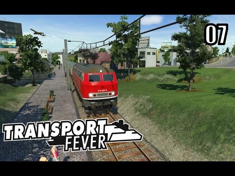 Transport Fever - UK Map Free Mode - Episode 7 - HS2 or High Speed Rail?!
