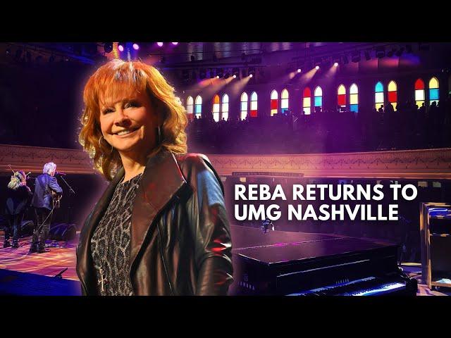 Reba Returns to UMG Nashville