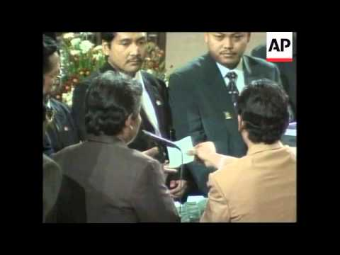 INDONESIA: JAKARTA: WAHID ELECTED AS NEW PRESIDENT