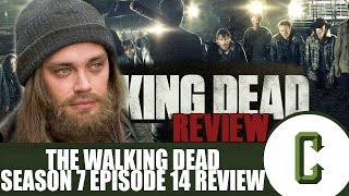 """The Walking Dead Review with Tom Payne """"Jesus"""" – Season 7 Episode 14 """"The Other Side"""""""