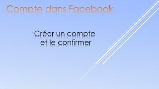 Creer un compte Facebook  GRATUIT