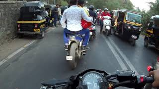 Squids VS superbike | super bikes in india | must watch his reaction...!!!!!!!