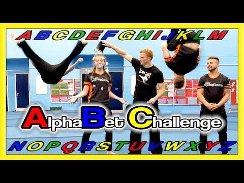 Alphabet Challenge! | Martial Arts, Kicks & Flips  | Team GNT