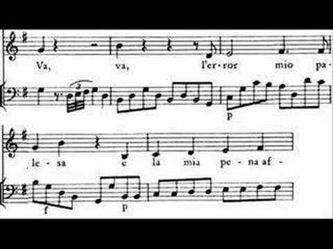 "Mozart - Mitridate ""Va, l'error mio palesa"" Jochen Kowalski"