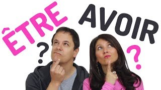 When to use ÊTRE or AVOIR in French ?