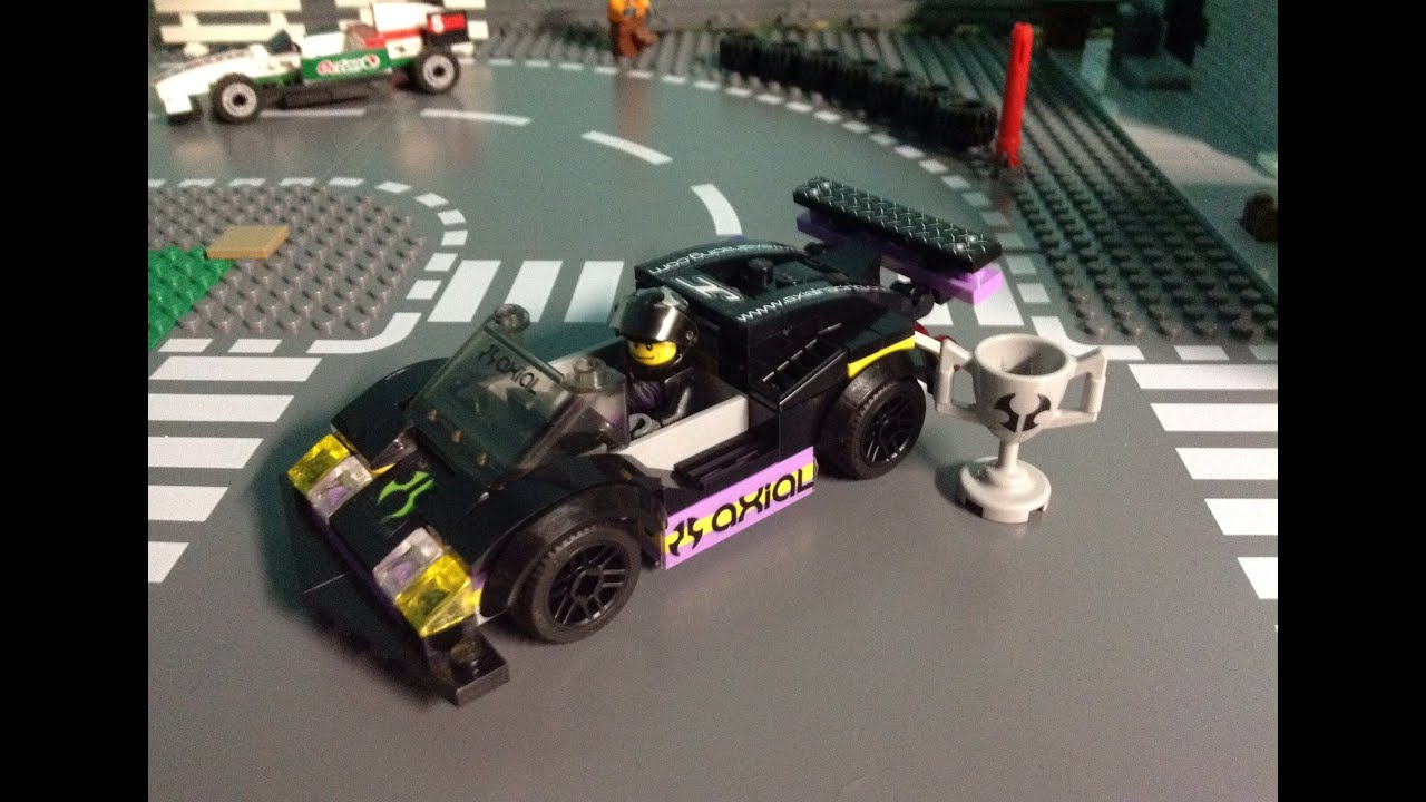 Lego Moc Race Car Youtube