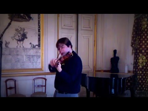 Nicolo Paganini Caprice # 4  in C m played by Radu Bitica