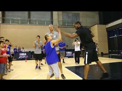 Kawhi Leonard's NBA Cares Guest Appearance In China!