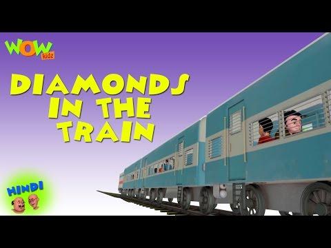 Diamonds In The Train - Motu Patlu in Hindi WITH ENGLISH, SPANISH & FRENCH SUBTITLES thumbnail