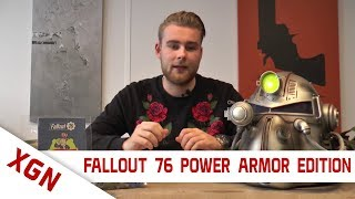 Fallout 76 Power Armor Edition unboxing