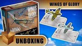 Wings of Glory Unboxing: Battle of Britain Starter Set