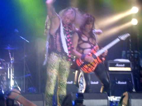 Steel Panther - Community Property Live - Download Festival June 14th  2009